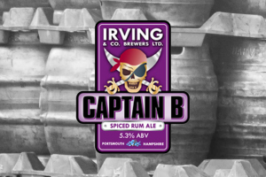 Captain B by Irving & Co. Brewing in Portsmouth.